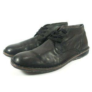John Varvatos Chukka Leather Ankle Boots